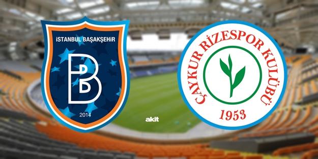 Başakşehir Rizespor maçı ne zaman saat kaçta hangi kanalda?