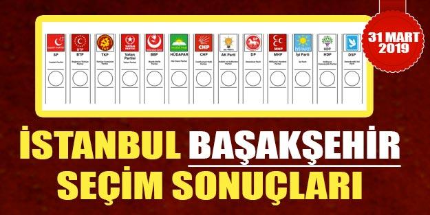 Başakşehir seçim sonuçları oy oranları | 2019 Başakşehir yerel belediye seçim sonuçları