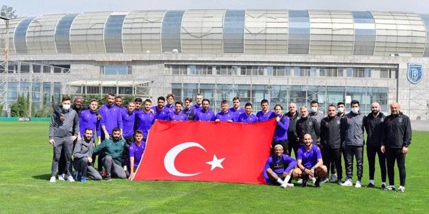 Başakşehir'de Alanyaspor maçı hazırlıkları başladı