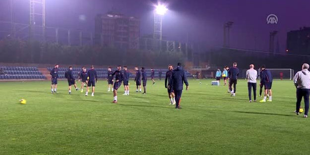 Başakşehir'de Galatasaray mesaisi