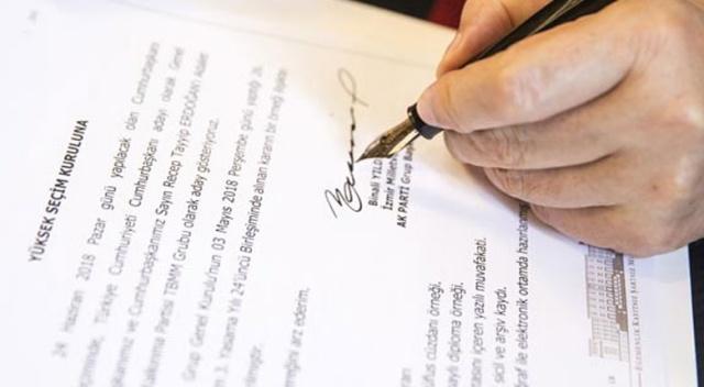 Başbakan Binali Yıldırım dilekçeyi imzaladı!