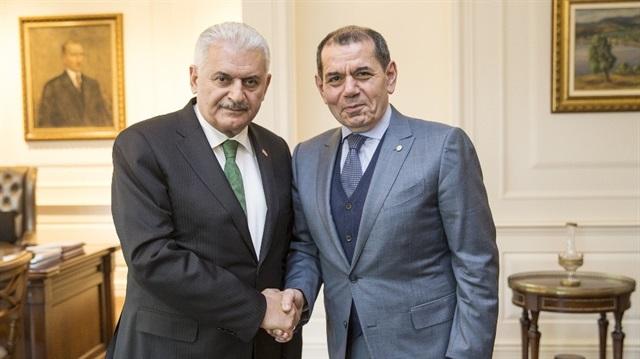 Başbakan Dursun Özbek'i kabul etti
