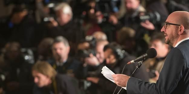 Başbakan Michel'e bakın ne fırlattılar
