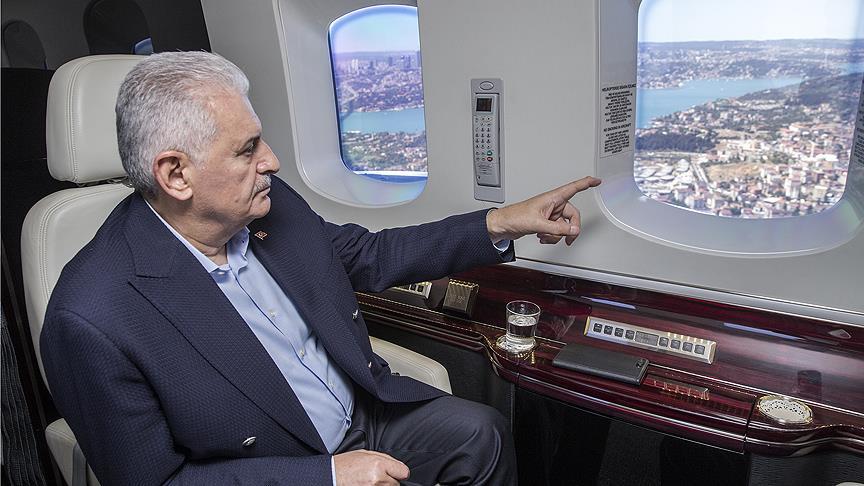 Başbakan Yıldırım 3. Havalimanı'nın açılış tarihini verdi