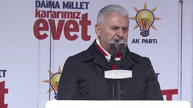 Başbakan Yıldırım: Hastane kuyruğu deyince aklınıza CHP gelsin