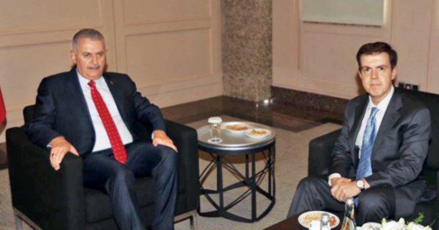 Başbakan Yıldırım ile Ahmet Mücahid Ören bir araya geldi