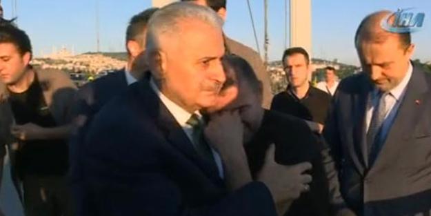 Başbakan Yıldırım intiharı önledi!