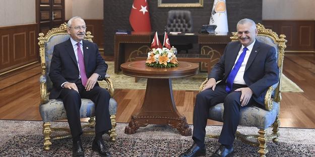 Başbakan ile Kılıçdaroğlu ne konuştu?
