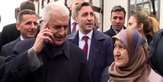 Başbakan Yıldırım vatandaşın ricasını kırmadı