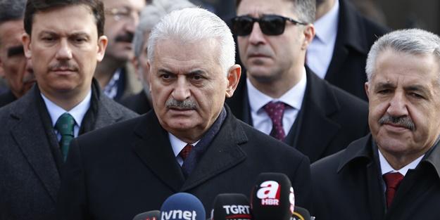 Başbakan Yıldırım'dan 'Abdullah Gül'e tepki: Tasvip etmiyoruz