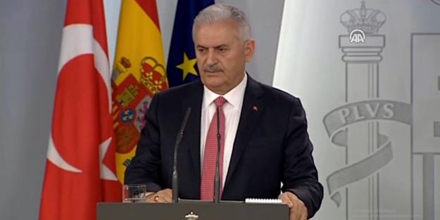 Başbakan Yıldırım'dan Avrupa Birliği'ne çağrı