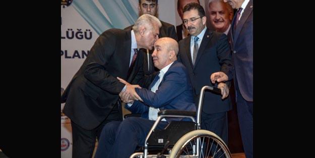 Başbakan Yıldırım Gazi Turgut Aslan'la bir araya geldi