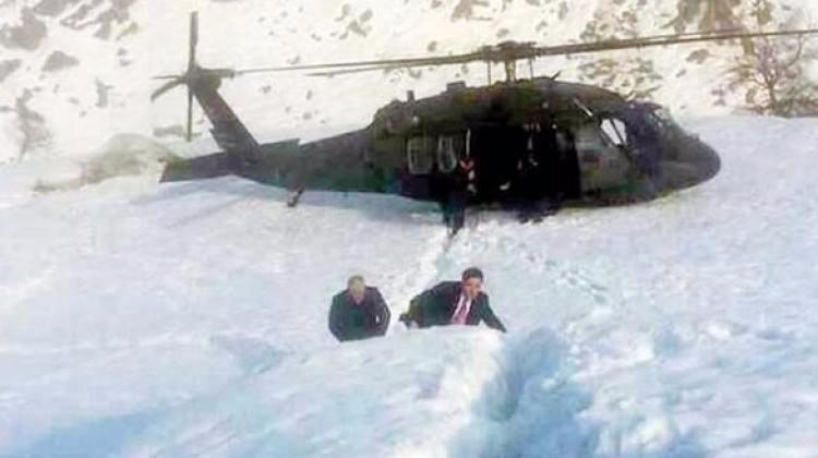 Başbakan Yıldırım'ın helikopterinde neler yaşandı?