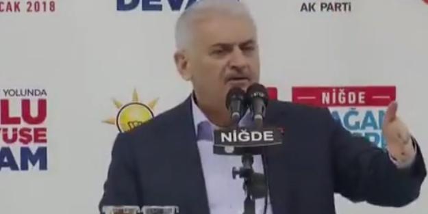 Başbakan'dan Kılıçdaroğlu'na: Konuştum mu altından kalkamazsın