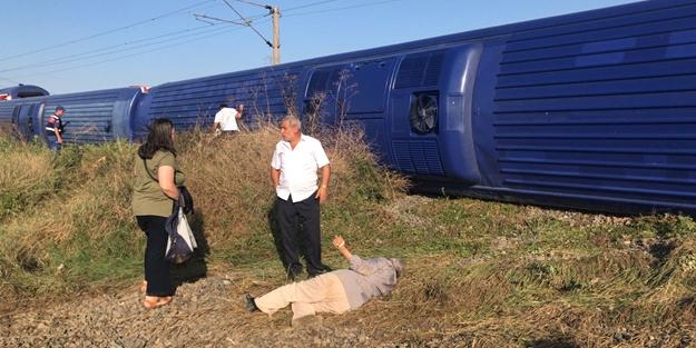 Başbakanlıktan tren kazasıyla ilgili açıklama