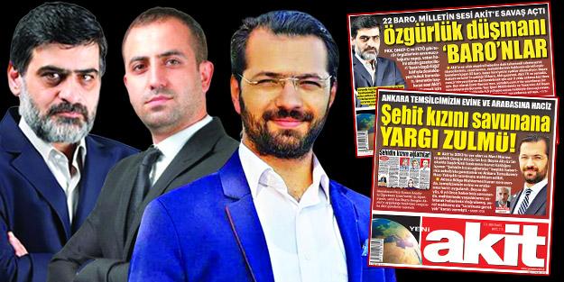 Basın özgürlüğü diyenler Akit'e suspus