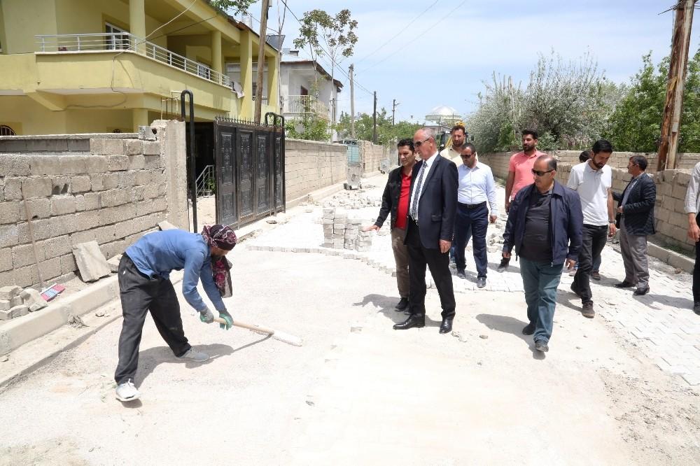Başkan Akman, çalışmaları yerinde inceledi