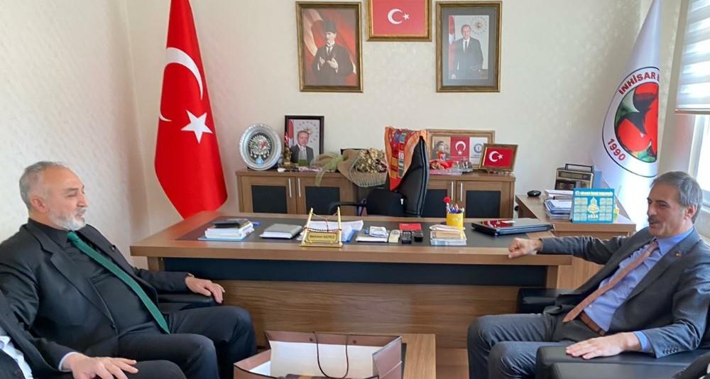 Başkan Alemdar'dan kardeş belediyeye ziyaret