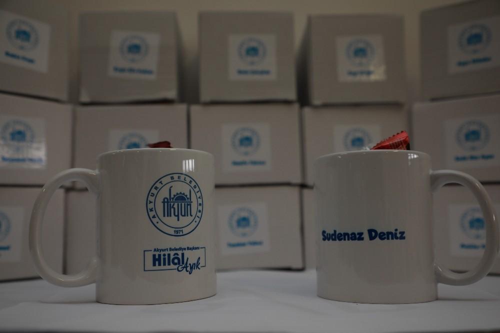 Başkan Ayık'tan LGS'ye katılan öğrencilere sürpriz hediyeler