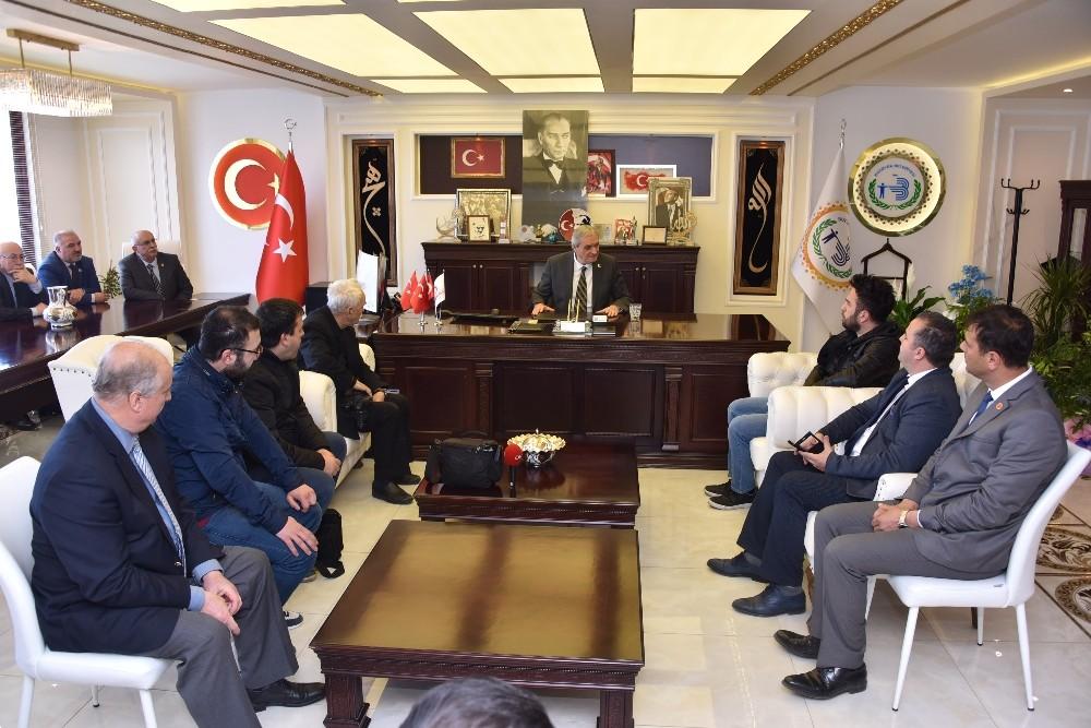 Başkan Bakkalcıoğlu'unun basın toplantısı