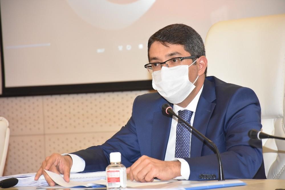 Başkan Çelik, mecliste korona virüs çalışmalarını anlattı