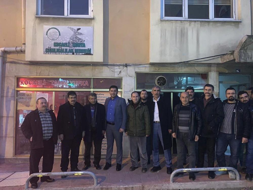 Başkan Çiğdem, İstanbul'da Hüyük'lü hemşehrileriyle buluştu