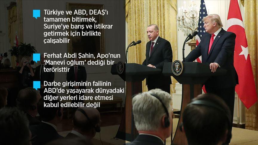 Başkan Erdoğan: ABD ile yeni bir sayfa açmakta kararlıyız