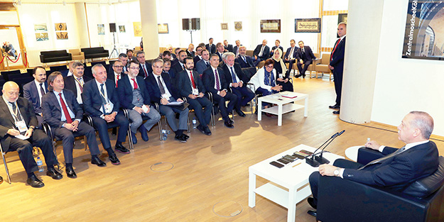 Başkan Erdoğan: ABD ve Almanya ciddiyetsiz