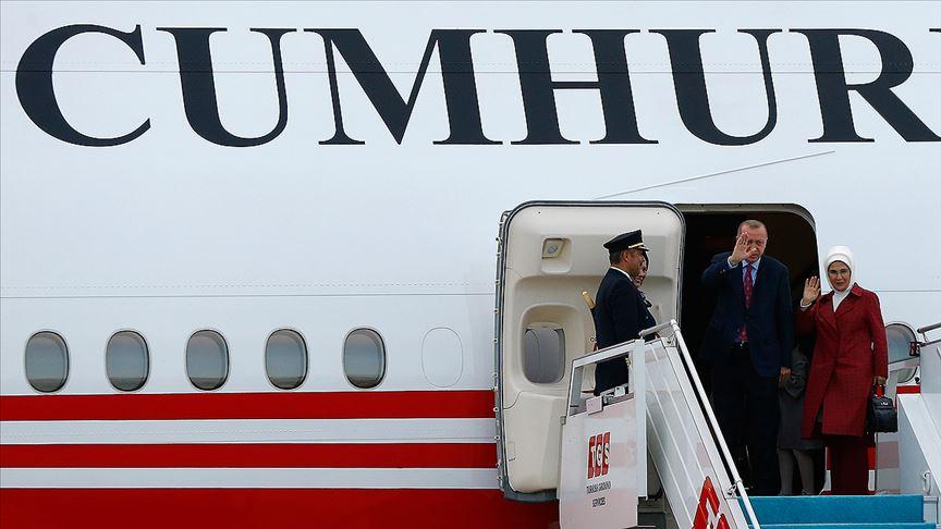 Başkan Erdoğan ABD'den ayrıldı