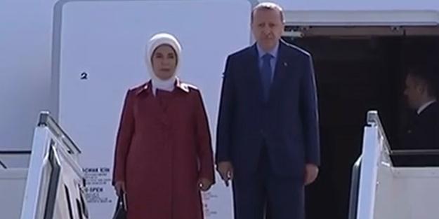 Başkan Erdoğan Almanya'da!