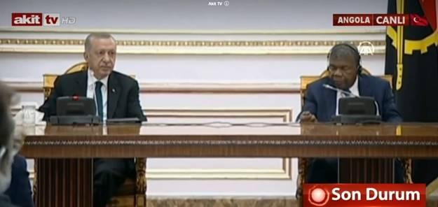 Başkan Erdoğan Angola'da açıkladı: İHA ve SİHA talebinde bulundular
