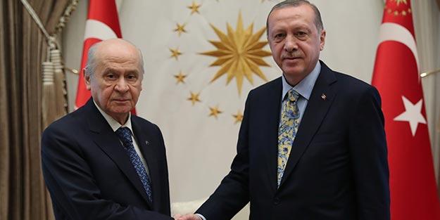 Erdoğan ile Bahçeli arasında kritik zirve
