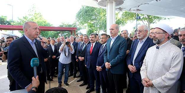 Başkan Erdoğan: Böyle bir şey mümkün değil