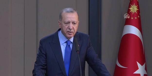 Başkan Erdoğan: Bugüne kadar biz düşündük, bundan sonra da onlar düşünsün