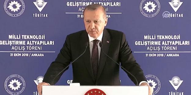 Başkan Erdoğan canlı yayında açıkladı! Yerli hava savunma sistemi SİPER geliyor