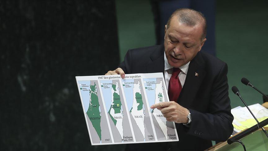 Başkan Erdoğan Filistin davasını bir kez daha dünya gündemine taşıdı