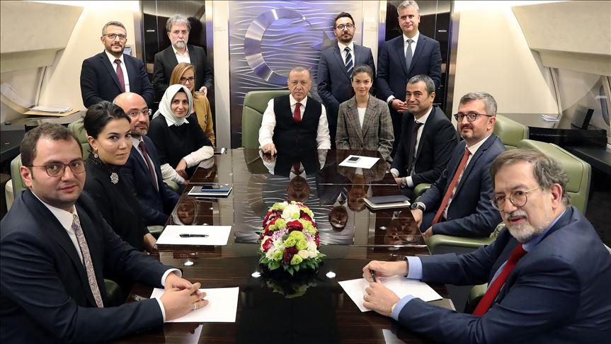 Başkan Erdoğan: Hedefimiz belli, herhangi bir yaptırım konusunda endişemiz yok