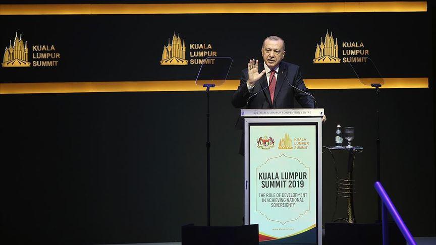 Başkan Erdoğan: İslam aleminin kaderini 5 ülkenin keyfine bırakan sistem ömrünü tamamlamıştır