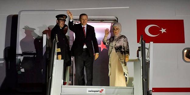 Başkan Erdoğan İstanbul'da!