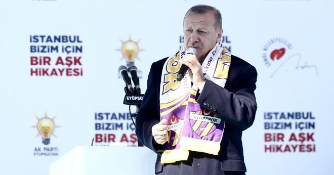Başkan Erdoğan: İstanbul'u hep birlikte şahlandıracağız