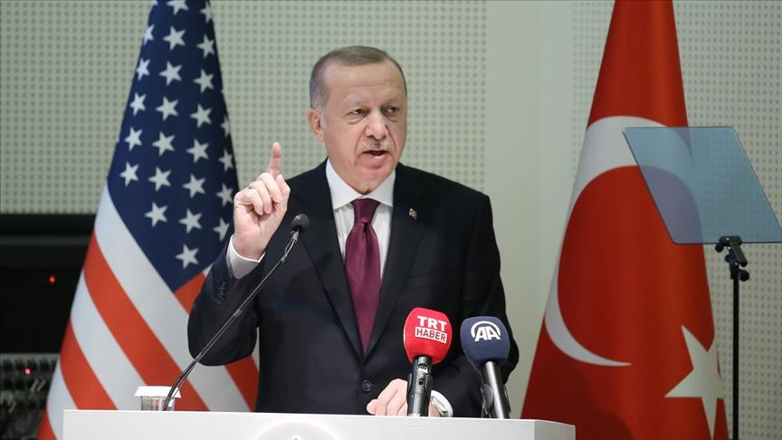 Başkan Erdoğan: İstikbalimiz söz konusu olunca diğer her şey ikinci planda kalır