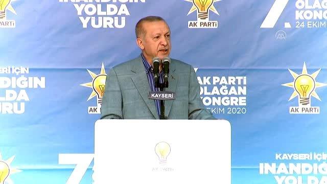 Başkan Erdoğan Kayseri'den İslam düşmanına ayar verdi! Macron zırdeli