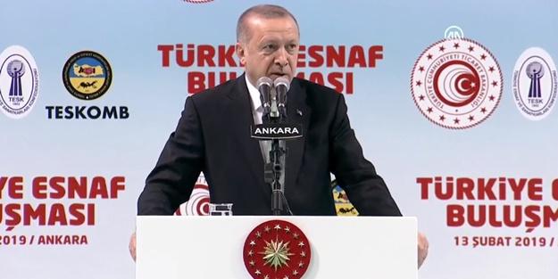 Erdoğan'dan tanzim satışı açıklaması: Belki ülkenin en ücra köşelerine kadar götürürüz