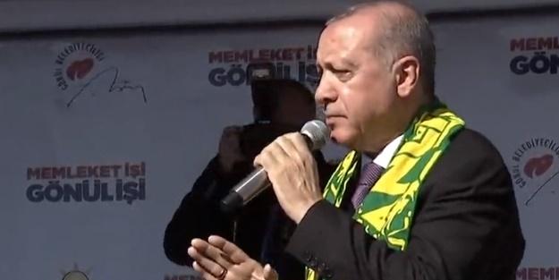 Başkan Erdoğan: Bu trenden inenler bu trene bir daha binemezler
