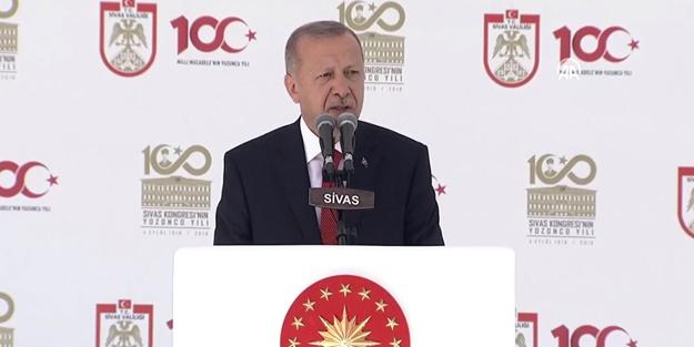Başkan Erdoğan: Vatanımıza uzanan her eli kırdık, yine kıracağız
