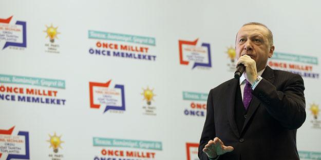 Erdoğan, Ordu ve ilçelerinin belediye başkan adaylarını açıkladı