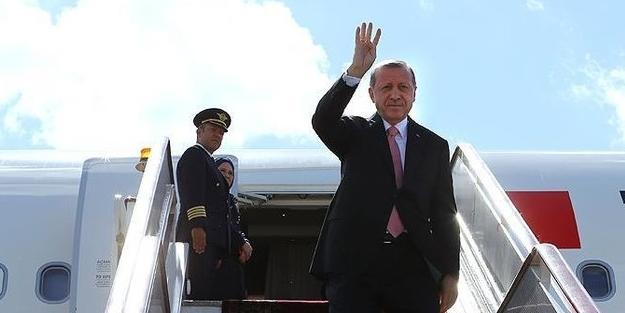 Başkan Erdoğan Paris'e ulaştı