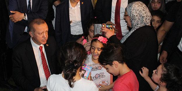 Başkan Erdoğan piknikçilere sürpriz yaptı
