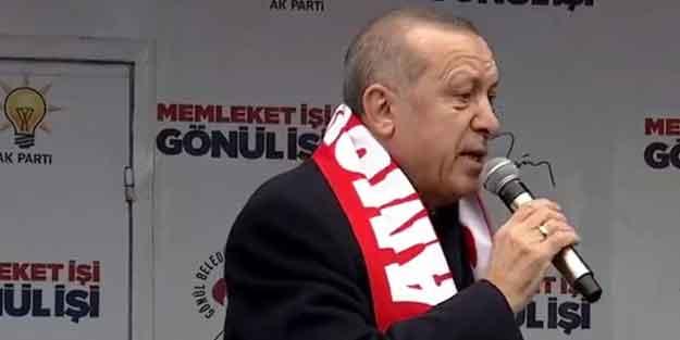 Erdoğan'dan CHP'li Başkan'a sert tepki: AK Partili olsa bir dakika tutmam