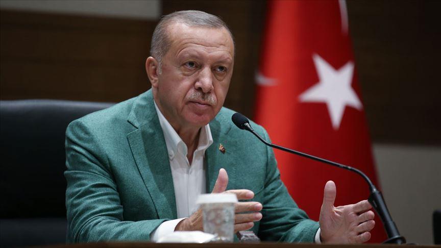 Başkan Erdoğan: Sınır boylarında hazırlıklarımız tamamlandı